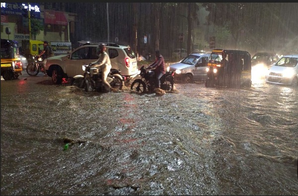 Pune City Heavy Rains