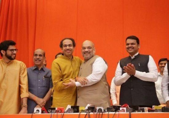 BJP Shivsena seat sharing formula