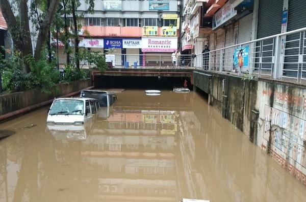 Pune heavy rain flood