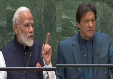 मोदींच्या भाषणानंतर चवताळलेल्या इम्रान खानचा UN मध्ये 'उन्माद'