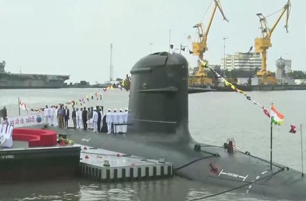 INS खंडेरी पाणबुडी नौदलात दाखल, सायलन्ट किलरने ताकद वाढणार