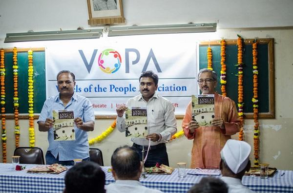 VOPA Anniversary Girish Kulkarni Sunil Chavan Shiv Balsakare