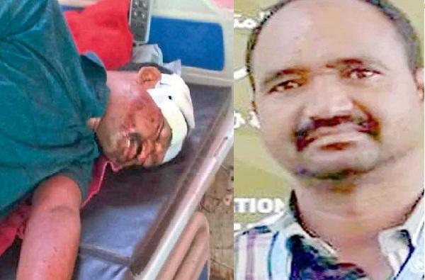 VBA Gadchiroli Candidate Injured
