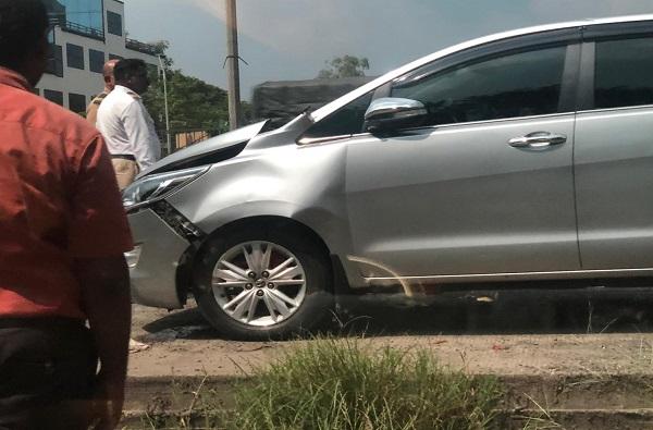 raj thackeray car accident