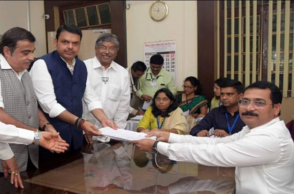 Devendra Fadnavis Nomination Form