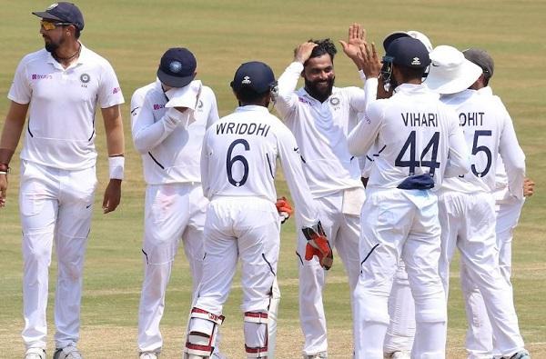 India beats S. Africa in Vishakhapattanam Test