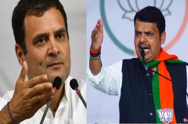 राहुल गांधी जिथे जातात, तिथे काँग्रेसची मतं कमी करतात : मुख्यमंत्री