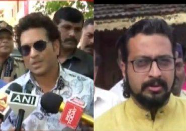 महाराष्ट्र विधानसभा निवडणूक LIVE : सचिन तेंडुलकर, अमोल कोल्हे, धनंजय मुंडेंचं मतदान