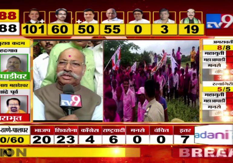 Maharashtra Assembly Polls Result 2019 : हा विजय माझ्या पक्षाला अर्पण, विजयानंतर राष्ट्रवादीच्या श्रीनिवास पाटील यांची प्रतिक्रिया
