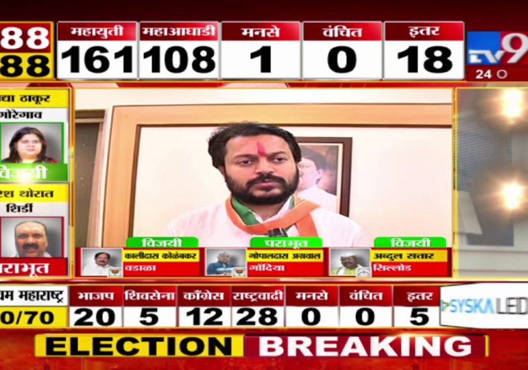 Maharashtra Assembly Polls Result 2019 : विजयानंतर धीरज देशमुख यांची पहिली प्रतिक्रिया
