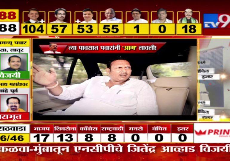 Maharashtra Assembly Polls Result 2019 : साताऱ्यात राजेंचा पराभव...! 'त्या' पावसात शरद पवारांनी 'आग' लावली