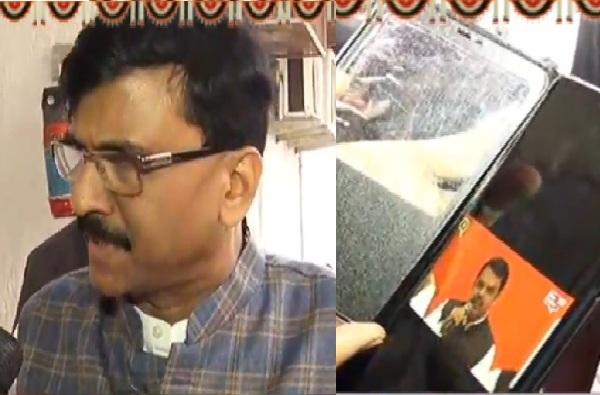 Sanjay Raut to Devendra Fadanvis