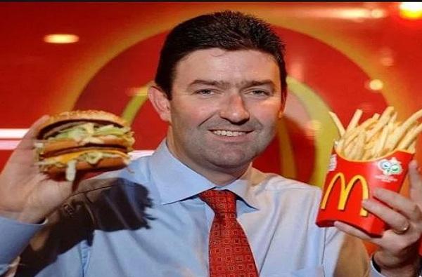 McDonald's CEO Steve Easterbrook fired