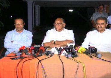 सोनिया गांधींची भेट घेतली, महाराष्ट्राबाबत आमचं ठरलंय : शरद पवार