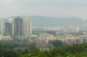 Thane air quality index