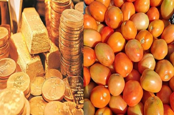 पाकिस्तानात सोने 86 हजारांवर, टोमॅटोचा दर तब्बल......
