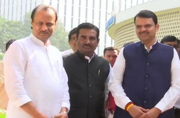 Ajit Pawar Returns without taking charge