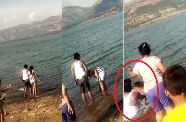 आणि साताऱ्यात मामा-भाची बुडतानाचा क्षण कॅमेरात कैद झाला...