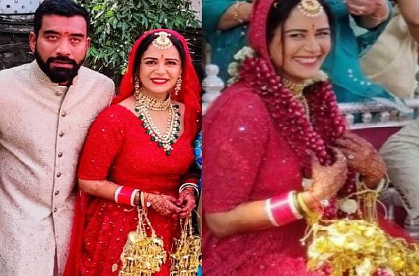 Actress Mona Singh Wedding