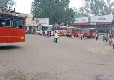 महाराष्ट्र-कर्नाटक सीमावाद पुन्हा एकदा पेटला, कोल्हापूर-कर्नाटक बस सेवा बंद