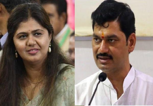 Dhanjay Munde criticized BJP leader Pankaj Munde