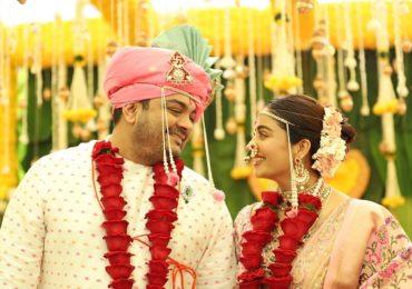 PHOTO : अभिनेत्री नेहा पेंडसे विवाहबंधनात