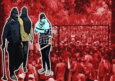 JNU मध्ये विद्यार्थ्यांवर हल्ला करणाऱ्या मुलीची ओळख पटली
