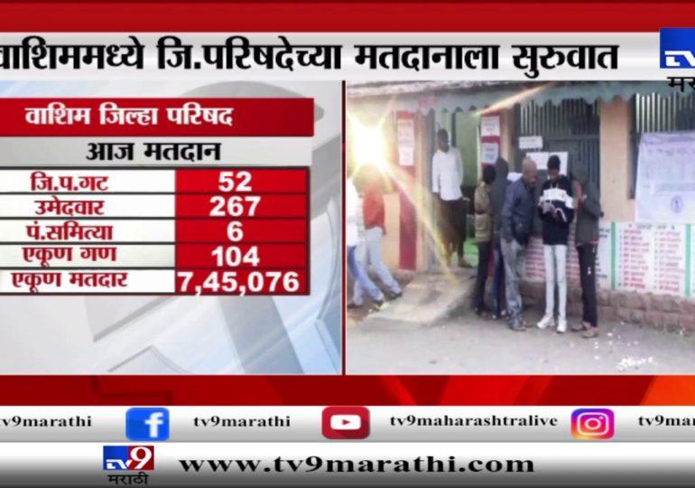 महाराष्ट्र जिल्हा परिषद निवडणूक 2020 : वाशिममध्ये 52 गटांसाठी 308 उमेदवार रिंगणात