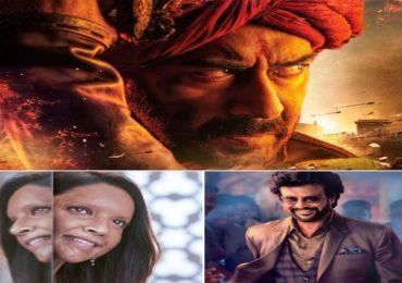 दीपिकाचा 'छपाक', रजनीकांतचा 'दरबार' की अजय देवगणचा 'तान्हाजी', कोण मारणार बाजी?