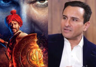 'तान्हाजी' चित्रपटात दाखवलेल्या इतिहासाशी सहमत नाही : सैफ अली खान