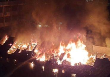कुर्ल्याच्या मेहता इमारतीला लागलेली आग अखेर नियंत्रणात
