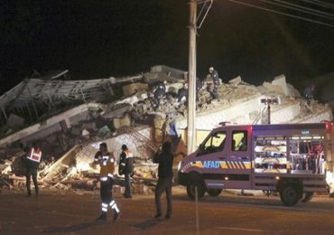तुर्कस्तानमध्ये भूकंपाचा तीव्र धक्का, 10 इमारती जमीनदोस्त