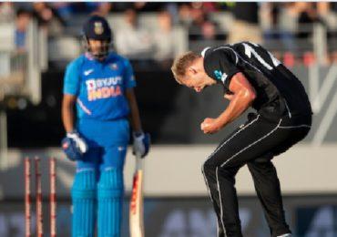 #INDvsNZ : न्यूझीलंडकडून टीम इंडियाचा 22 धावांनी पराभव, वनडे मालिकाही भारताने गमावली