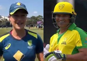 महिला गोलंदाजाचं सचिन तेंडुलकरला आव्हान, सचिन पुन्हा क्रिकेटच्या मैदानावर