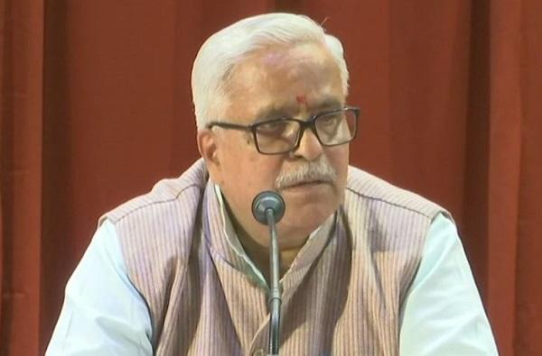 भाजप म्हणजे हिंदू समाज नाही आणि भाजपला विरोध म्हणजे हिंदूंना विरोध नाही : भय्याजी जोशी