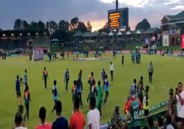 बांगलादेशी खेळाडूंचा उन्माद, विजयानंतर भारतीय खेळाडूंना धक्काबुक्की