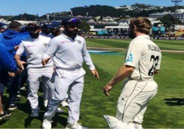 वेलिंग्टन कसोटीत टीम इंडिया गारद, न्यूझीलंडचा 10 विकेट्सनी सनसनाटी विजय
