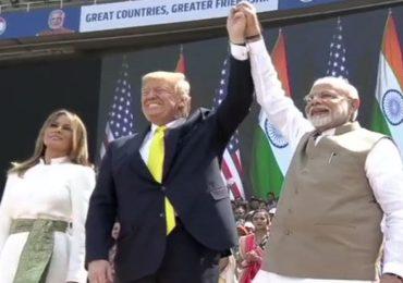 Donald Trump India Tour LIVE : अमेरिका भारताचा 'सच्चा दोस्त' : मोदी