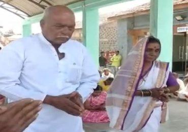 नाशिकमध्ये 'अगंबाई सासूबाई!' 80 वर्षांच्या आजोबांचा 68 वर्षांच्या आजीशी विवाह
