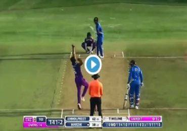 हार्दिक पंड्याची झंझावाती एण्ट्री, 39 चेंडूत 105 धावा, 10 षटकार, चौकार किती?