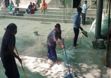 कोरोनाची धास्ती, मंदिरात दर दोन तासांनी साफ-सफाई, संसर्ग रोखण्यासाठी तीर्थक्षेत्रांकडून विशेष दक्षता