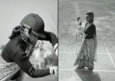 मिताली राज साडी नेसून क्रिकेटच्या मैदानात, व्हिडीओ व्हायरल