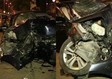 वरळीत BMW चा भीषण अपघात, 6 महिन्यांची चिमुरडी आणि आजीसह तिघांचा मृत्यू