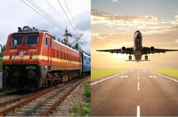 लॉकडाऊन 3 मेपर्यंत वाढला, रेल्वे आणि विमान वाहतुकीचं काय?
