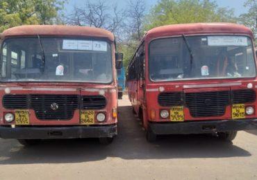 630 किमीचा प्रवास, 70 बसवर 140 चालक, कोटाहून महाराष्ट्रातील विद्यार्थ्यांना आणण्यासाठी धुळ्याहून एसटी रवाना