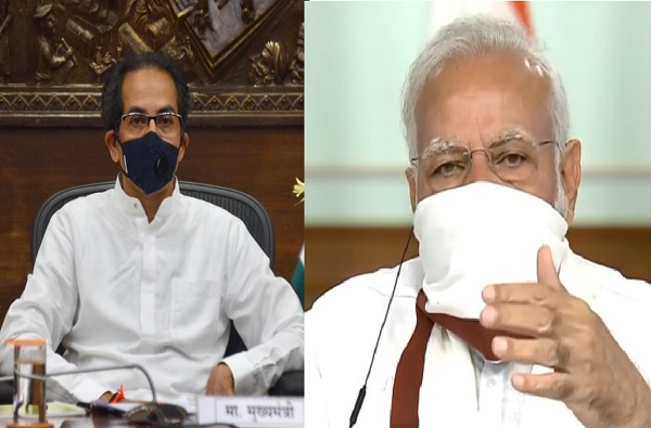 'वैद्यकीय ऑक्सिजनच्या किमतीचा प्रश्न सोडवा', मुख्यमंत्री उद्धव ठाकरेंची पंतप्रधान मोदींकडे मागणी