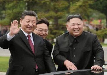 किम जोंगनं कोरोनाच्या भीतीनं चीनसोबतची मैत्री तोडली, चीनसोबतच्या व्यापारात मोठ्या प्रमाणावर घट