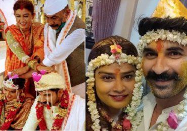 अरुण गवळीच्या मुलीचा विवाह, कन्यादान करताना 'डॅडी' भावूक