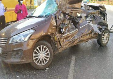 मरीन ड्राईव्हवर भीषण कार अपघात, बड्या उद्योगपतीच्या 18 वर्षीय मुलाचा मृत्यू