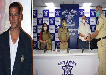 अक्षय कुमारचा नाशिक पोलिसांना मदतीचा हात, 500 अत्याधुनिक घड्याळांचे वाटप